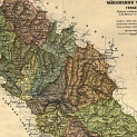 This is an awesome map of the family seat of my father's side.The old Austro-Hungarian Empire where Marmaros County was.<br />See Marmaros-Szighet for my father's Mother and for the family home it was in the village of Luh.<br />Luh was also known as Tiszalonka, Lonka, Leh, or Lug dpeneding on language used.